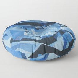 Cubist Portrait of Pablo Picasso: The Blue Period  Floor Pillow