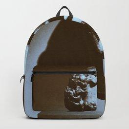 Head of a Goddess - photo Backpack