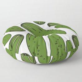 Green Pickles Floor Pillow