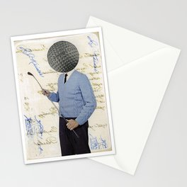 The Golfer Stationery Cards