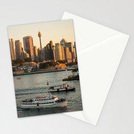 Cruising Sydney Harbour Stationery Cards