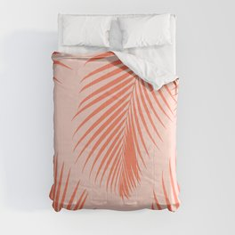 Coral Palms ~ Summer Tropical Pattern Comforters