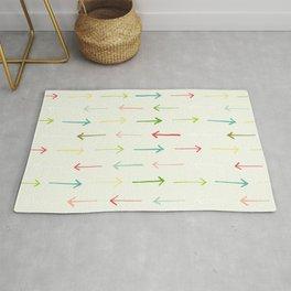 Colorful Arrows Rug