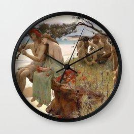 Pastoral - Rupert Charles Wulsten Bunny Wall Clock