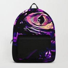 alligator baby eye vals Backpack