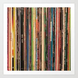 Alternative Rock Vinyl Records Kunstdrucke