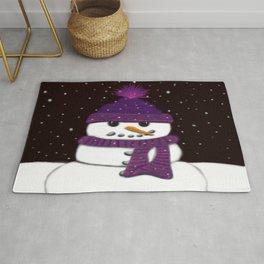 The Armless Snowman Rug