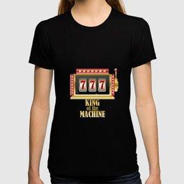 Funny Slot Machine King T-shirt