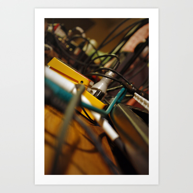 Web 1.0 Art Print by Teawhino PRN926440