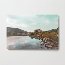 The seven Rila lakes Metal Print
