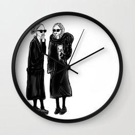 mary-kate n ashley 4 eva Wall Clock