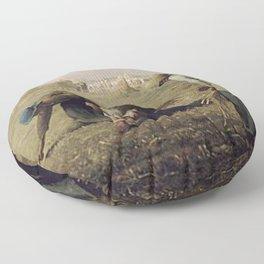 The Gleaners - Millet Floor Pillow
