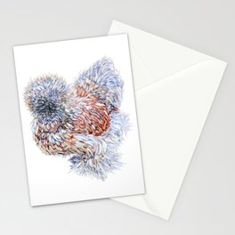 Silkie Chicken - Maple Taffy Stationery Cards