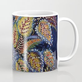 Blue Leaves of Autumn by Seraphine Louis Coffee Mug