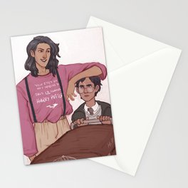 sirius and harry 1st day Stationery Cards