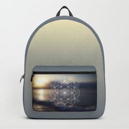 Mithlond (Grey Havens) | Sacred geometry art Backpack