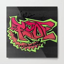Ride Street Metal Print