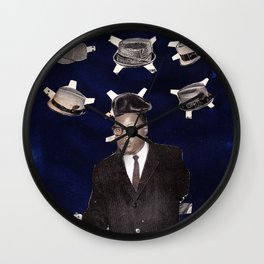 Choose Your Armour Wall Clock