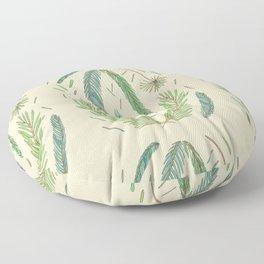 Pine Bough Study Floor Pillow
