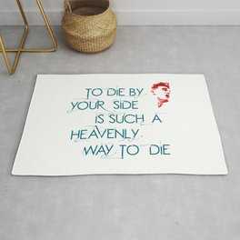 The Smiths Rug