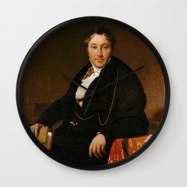 Jean-Auguste-Dominique Ingres - Jacques-Louis Leblanc (1774–1846) Wall Clock