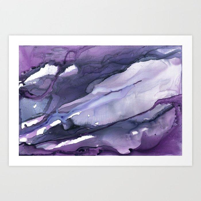 Purple Haze Kunstdrucke