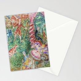 Nils Dardel Turisthotellet i Rättvik Stationery Cards