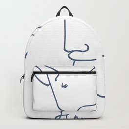 Jean Cocteau Tete de Faune (Head of Fauna), Artwork, Posters, Prints, Tshirts, Men, Women, Kids Backpack