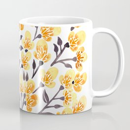 Cherry Blossoms – Yellow Palette Coffee Mug
