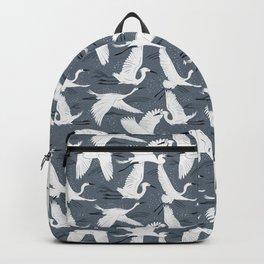 Soaring Wings - Steel Blue Grey Backpack