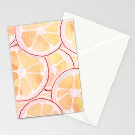 Tangerine Ring Party! Stationery Cards