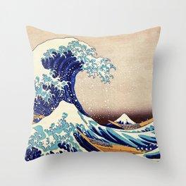 The Great Wave Off Kanagawa Deko-Kissen