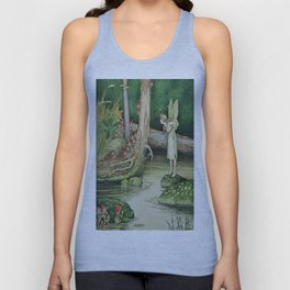 """Hide and Seek"" by Ida Rentoul Outhwaite (1916) Unisex Tank Top"