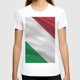 Italy acock flag T-shirt