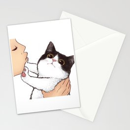 Don't kiss! Stationery Cards