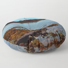 Point Prim Lighthouse Reflected Floor Pillow