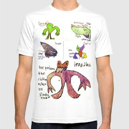 All Monsters LARGE T-shirt