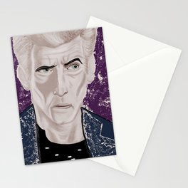 galactic rock star, color Stationery Cards