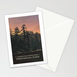 Kawartha Highlands Provincial Park Stationery Cards