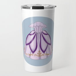 Flath Lilac Ball gown Travel Mug