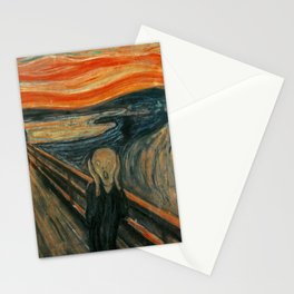 The Scream - Edvard Munch Stationery Cards