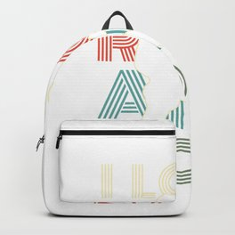 I Love Rock And Roll Birthday Gift For Rock And Roll Fans Backpack