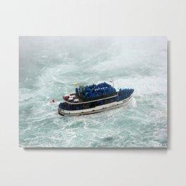 All Aboard! | Niagara Falls Landscape | Nadia Bonello Metal Print