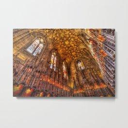 Scottish Chapel Canvas Art Metal Print