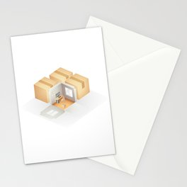Home box /Marek/ Stationery Cards