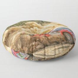 Craig Breen / A. Hayes Rali de Mortágua Floor Pillow