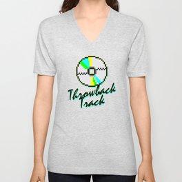 Throwback Track Unisex V-Neck