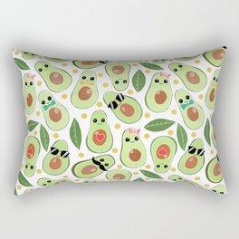 Stylish Avocados Rectangular Pillow