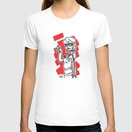 Graffiti Girl (alternative) T-shirt