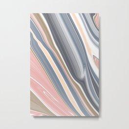 Abstract modern geometric background Metal Print